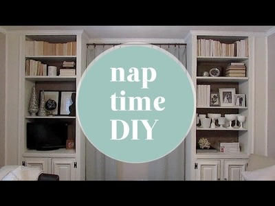 Nap Time DIY: Updated Built-Ins