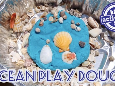 Ocean Play Dough -- Fun DIY Play Recipe!