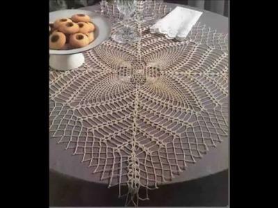 Crochet tablecloth Ganchillo Mantel - Croche toalhinha - uncinetto centrotavola