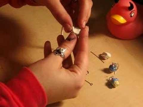 Cupcake Earrings Tutorial