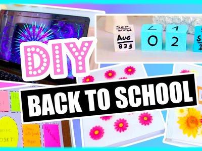 DIY Back To School! DIY Organization, Binder Decorations & More! DIY supplies