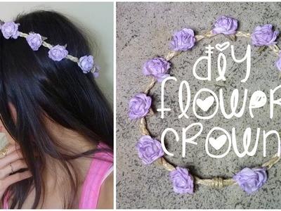 DIY: Braided Flower Crown ♥