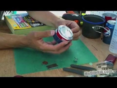 DIY Camping Stove From Soda Pop Cans - Part 3