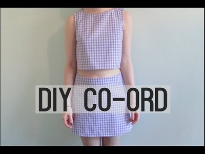 DIY Co-ord Part One; Top