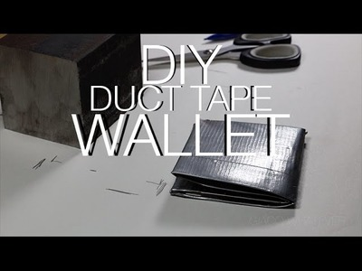 ⇒ DIY Duct Tape Wallet