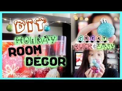 DIY: Easy &Affordable Holiday Room Decor! | Emily Dao 2014
