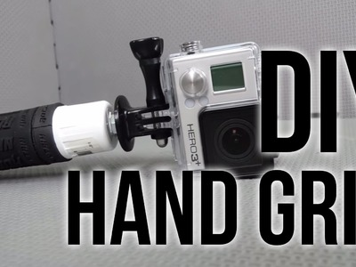 DIY GoPro Handle Grip