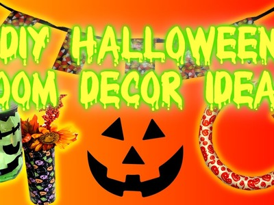 DIY Halloween Room.Home Decor Ideas!