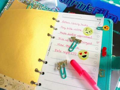 DIY Ideas for Personal Planners - Part 2