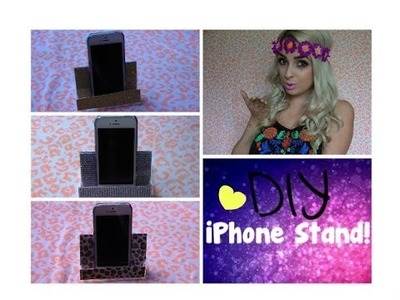 DIY iPhone Stand!