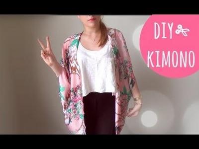 DIY ✄ KIMONO (Fácil) | Faça Você Mesmo