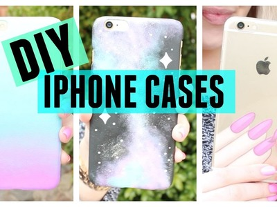 DIY Nail Polish Inspired Phone Cases! ♡