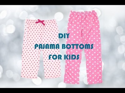 DIY Pajama Pants, Sewing Project for Beginners