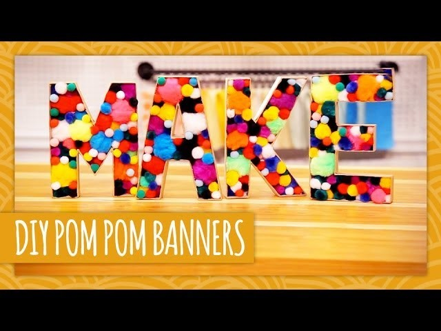 DIY Pom Pom Banners - HGTV Handmade