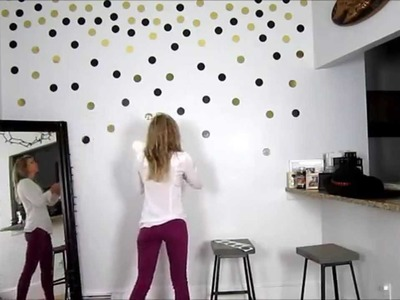 DIY Project: Create Your Own Confetti Wall!