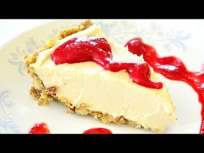 Easy No Bake Raw Vegan Cheesecake Recipe (FOOD Bites)