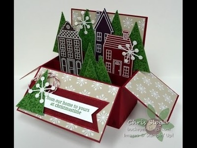 Holiday Home Card in a Box