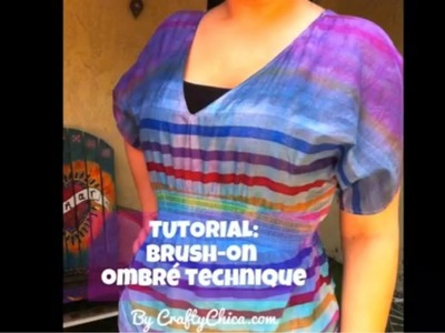 HOW TO: Brush-On Ombré  Technique