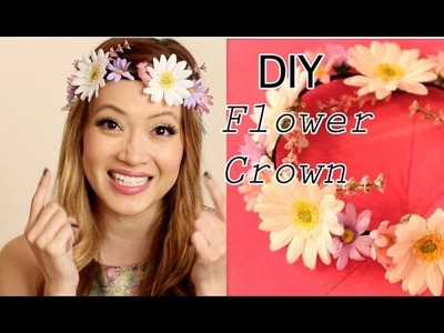 How To DIY Flower Crown (Flower Halo)