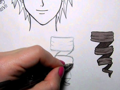How to Draw and Colour Manga Hair: Ringlets