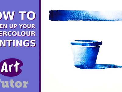 How to Loosen Up Your Watercolour Paintings
