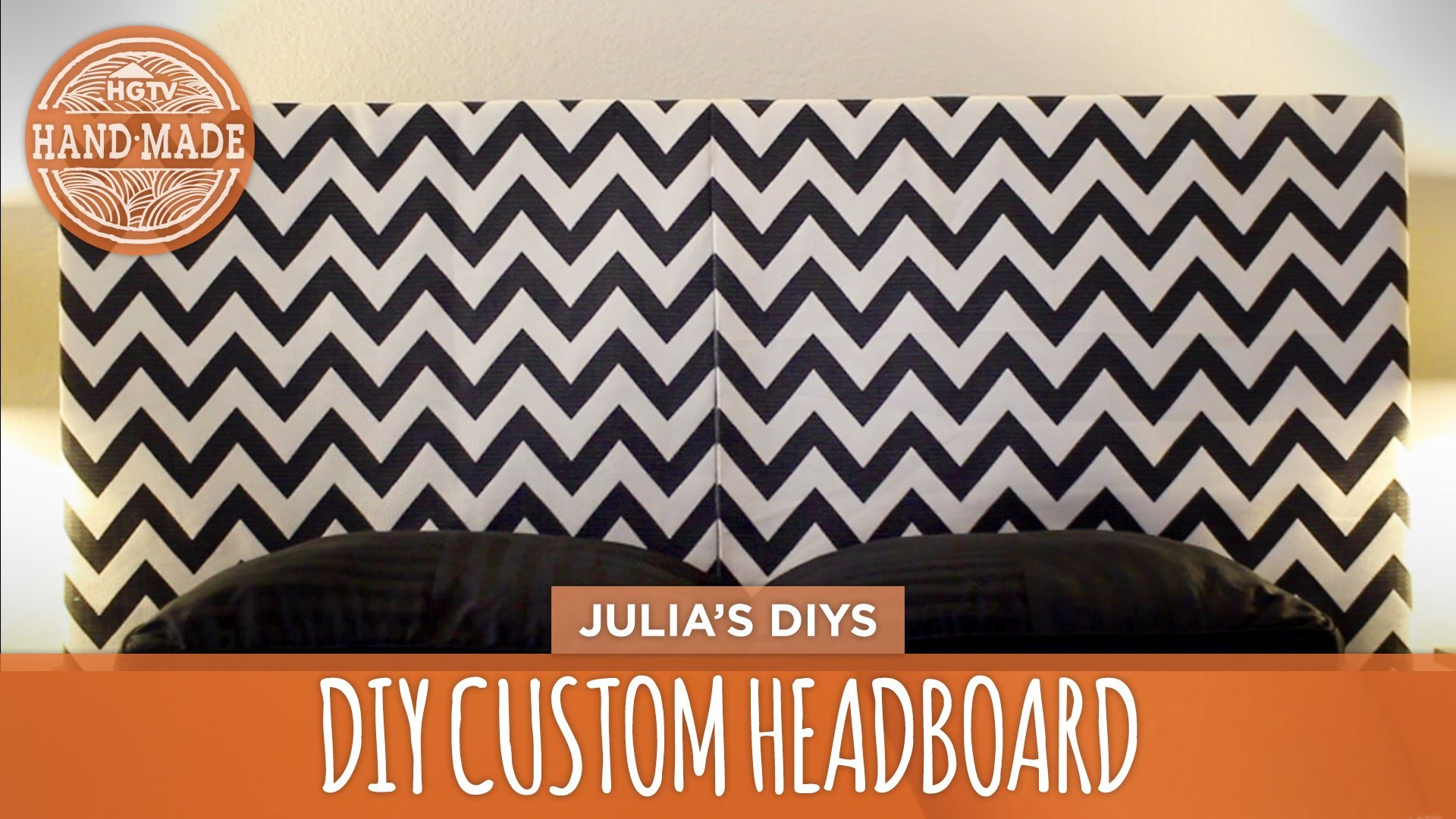 How to Make a Custom Headboard! - DIY Dorm Decor - HGTV Handmade