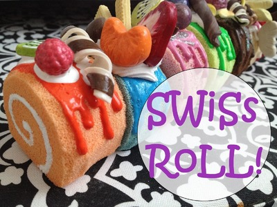 How to Make a Swiss Roll Squishy!