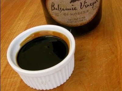 How-To Make Balsamic Glaze