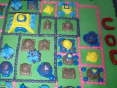 How to Make Clash of Clans Cake