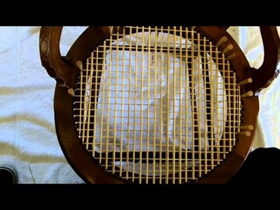 How to Weave a Round Seat Using Strand Cane