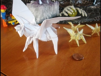 Instructions Origami Mini Winged Horse (Gatto999.it)