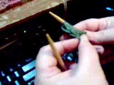 Knitting a slipped stitch edge
