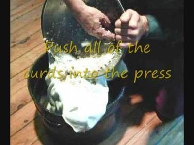Making Homemade Cheese