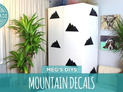 Modern Mountain Decals- HGTV Handmade