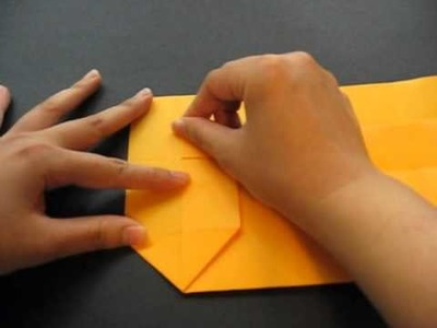 Origami 7 - Envelope (re-made video)