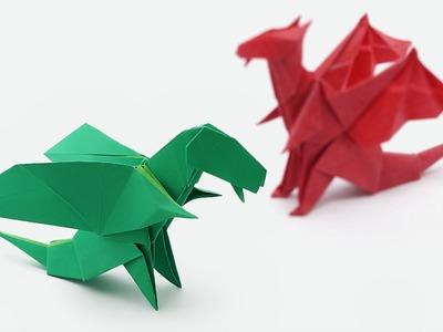Origami Chibi Dragon (Jo Nakashima)