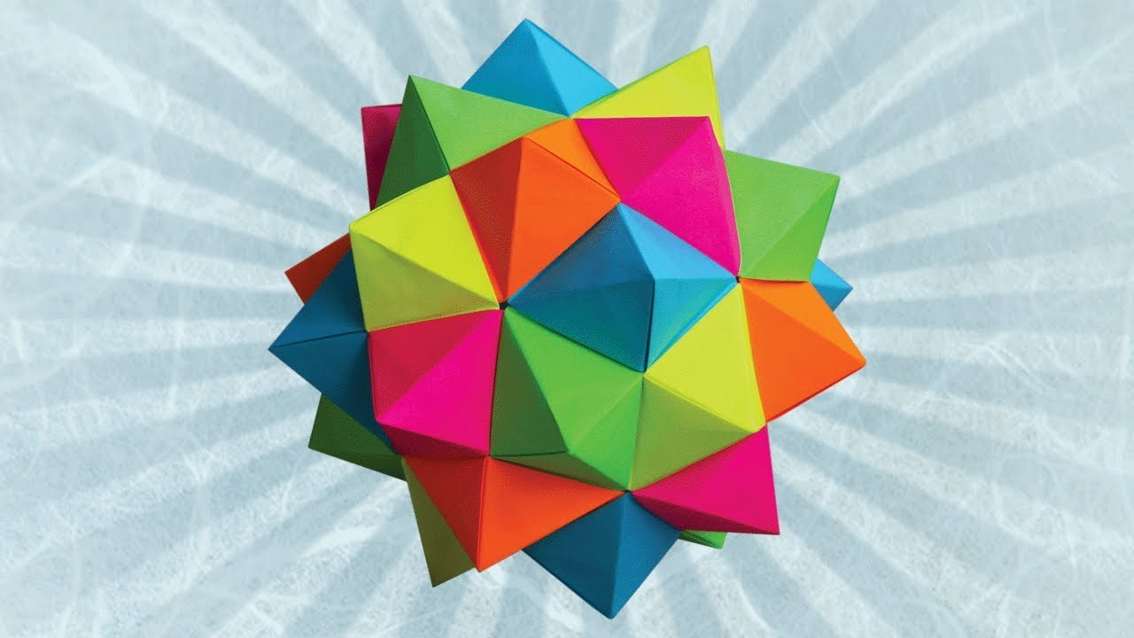 Origami Compound of 5 Octahedra (Meenakshi Mukerji)