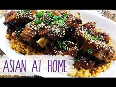 Pork Recipes : Chinese Style Sticky BBQ Ribs : Pork(Rib) : Chinese Food : Asian at Home