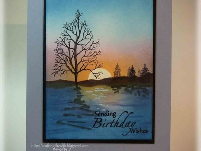 Tranquil Birthday Card