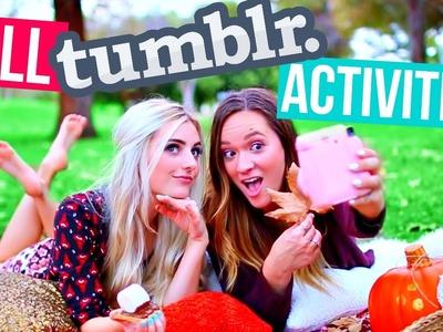 Tumblr Inspired Fall Ideas & Activities! | Aspyn Ovard