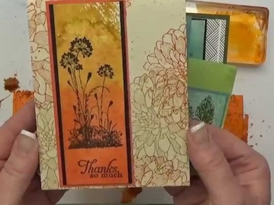 Watercolor Wash Background Tutorial Stampin Up