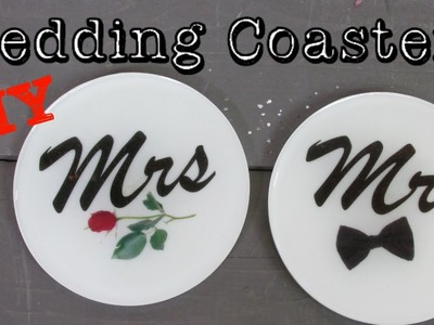 Wedding Coasters DIY   Another Coaster Friday Craft Klatch