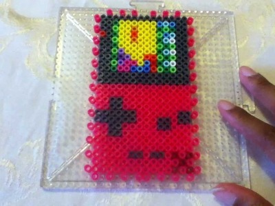3D Perler Bead Gameboy Color Tutorial