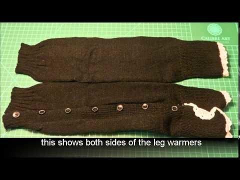 Acevog Women's Knee High Knit Lace Trim Leg Warmers Boot Socks