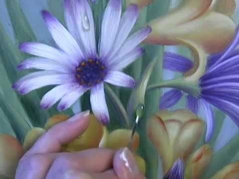 Acrylic Painting Techniques - Painting Waterdrops