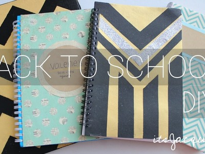 Back To School Notebook Binder Agenda DIY | ☛ itsJacquie !