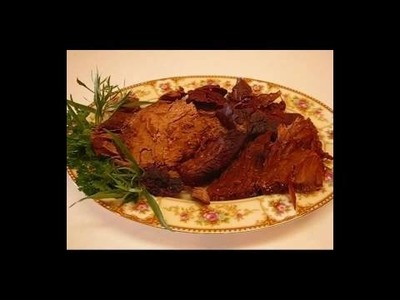 Betty's Oven Roast Beef au jus