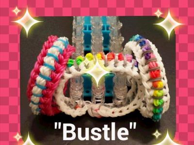 """Bustle"" Rainbow Loom Bracelet.How to turorial"