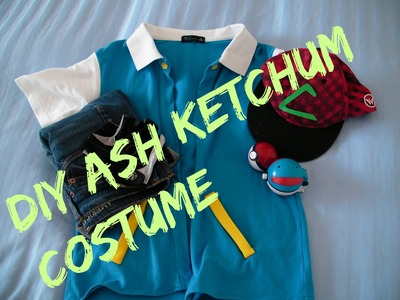 DIY Ash ketchum costume.cosplay || JackieAndTT