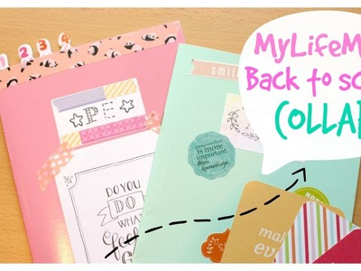 DIY Back to school: Customising Notebooks & Labels | Collab with MyLifeMits
